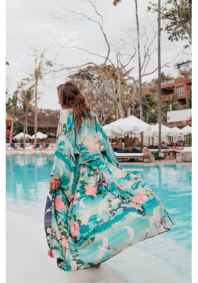 NIGHTINGALE REVERSIBLE MAXI KIMONO BY SPELL & THE GYPSY