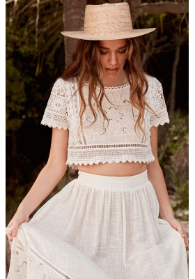 ABIGAIL LACE CROPPED TOP  BY SPELL & THE GYPSY DESIGNS