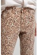 PANTALON VAQUERO LEOPARD TRUCKERS ONE & ONE TEASPOON