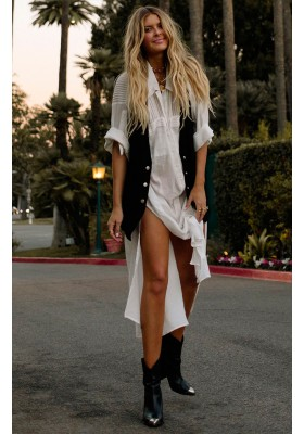 LINDA SHIRT DRESS WHITE BY SPELL & GYPSY DESINGS