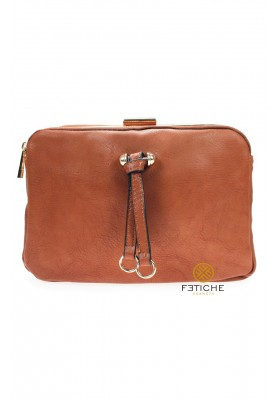BOLSO TRIPLE MARRON