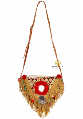 BOLSO TRIANGULAR FLECOS