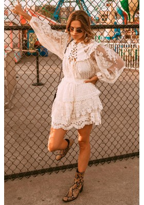 MINI FALDA DAWN LACE SPELL & THE GYPSY