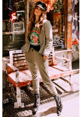 PANTALONES MAVERICK KHAKI TRACKPANTS SPELL & THE GYPSY
