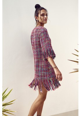 TWEED ZOE DRESS BY FETICHE SUANCES