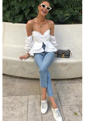 ANGY TOP WHITE