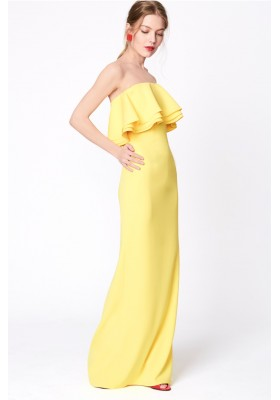 DRESS CELESTE YELLOW