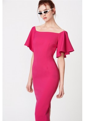 DRESS CASSIOPEIA FUCSIA