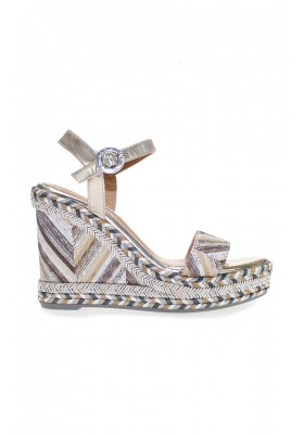 WEDGE SANDALS SAFARI