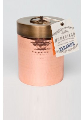 VERANDA MINI HAMMERED CANISTER CANDLE