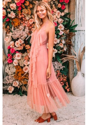 VESTIDO LUNA MESH GOWN SPELL & THE GYPSY